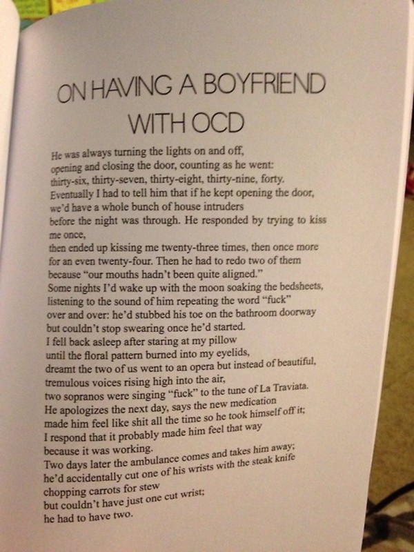 bag book ocd boyfriend book
