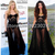 Aliexpress.com : Buy Selena Gomez Sheer Lingerie Inspired Maxi Gown Evening Dress From Tumblr Fashion on Storenvy from Reliable dresses made in china suppliers on KM Dresses