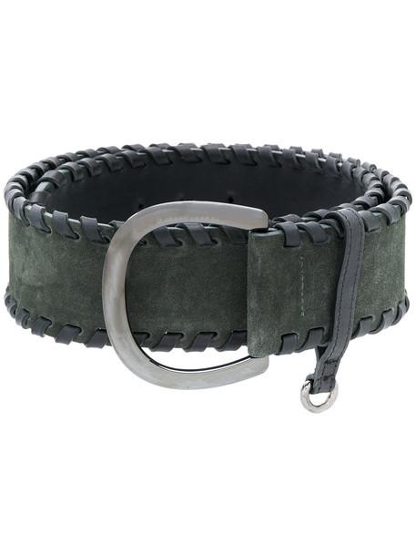 belt green
