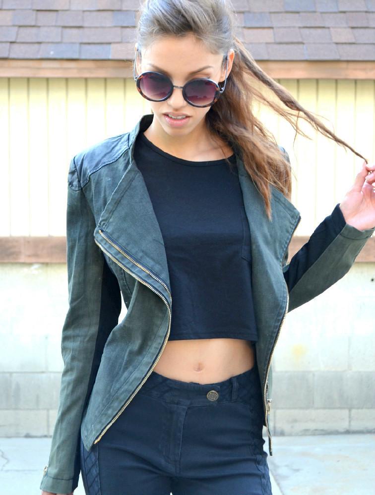 Hunter moto jacket