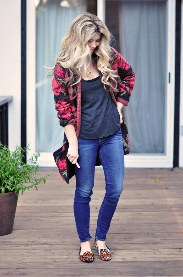 love maegan tank top jeans jewels bag