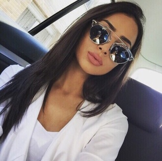 sunglasses style fashion beautiful mirrored sunglasses shades silver