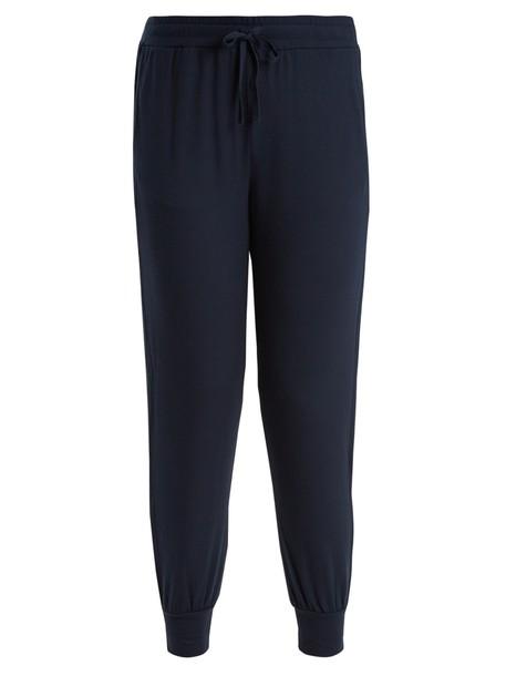 Skin navy pants