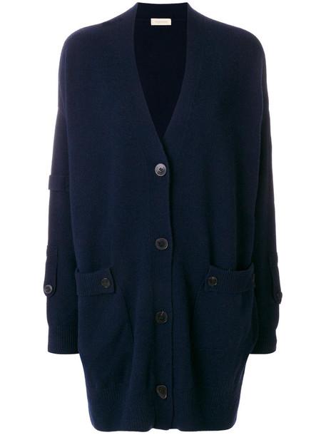 Wunderkind cardigan long cardigan cardigan long women blue sweater