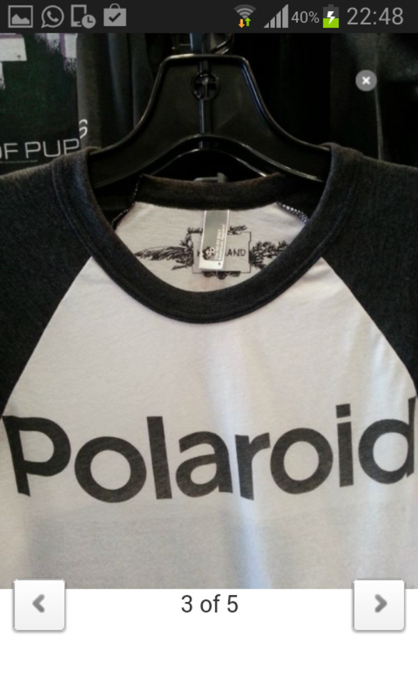 shirt kristen stewart polaroid camera t-shirt