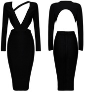 dress,dream it wear it,clothes,midi,midi dress,bodycon,bodycon dress,black,black dress,little black dress,v neck,v neck dress,plunge v neck,long sleeves,long sleeve dress,backless,backless dress,asymmetrical,asymmetrical dress,party,party dress,sexy party dresses,party outfits,summer dress,summer otufits,summer outfits,spring,spring dress,spring outfits,fall outfits,fall dress,winter outfits,winter dress,classy,classy dress,elegant,elegant dress,cocktail,cocktail dress,girly,date outfit,birthday dress,holiday dress,holiday season,romantic,romantic dress,romantic summer dress,pool party,new year's eve,dope,style,cute,outfit,all black everything