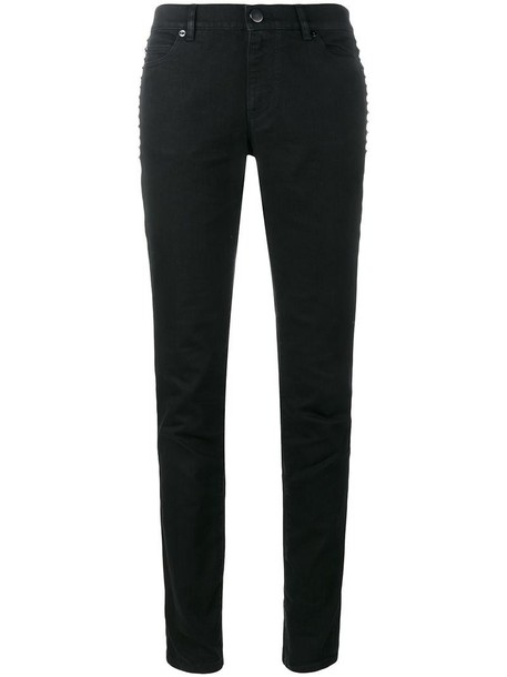 jeans women fit cotton black