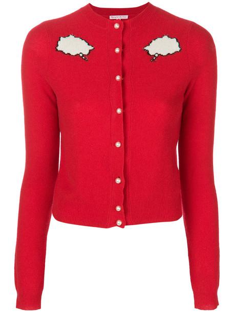 cardigan cardigan women red sweater