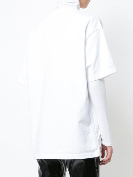 UNDERCOVER t-shirt shirt t-shirt women white cotton print top