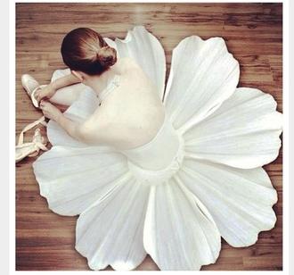 dress ballet white dress white