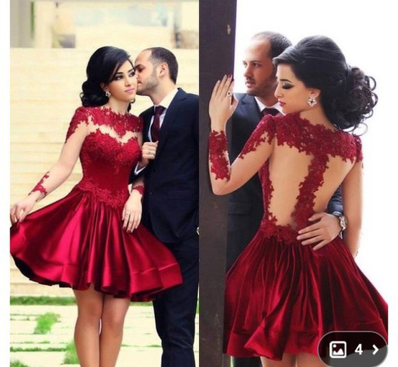 dress fashion lovely pepa girly ball red dress red underwear party party dress wedding dress