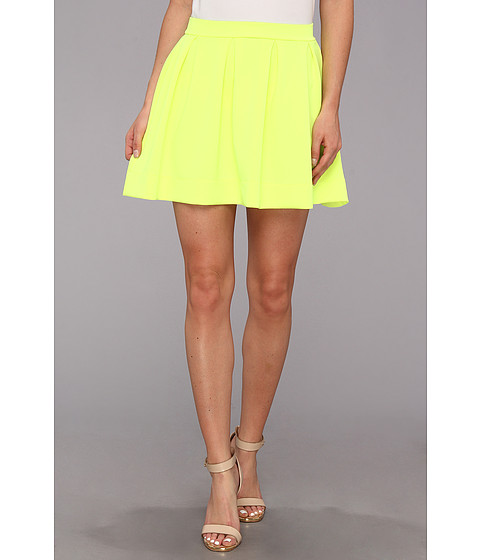 Gabriella Rocha Lauren Ashley Skater Skirt Neon Yellow - Zappos.com Free Shipping BOTH Ways