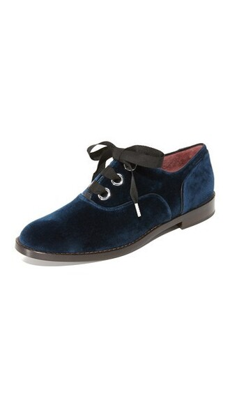 oxfords navy shoes