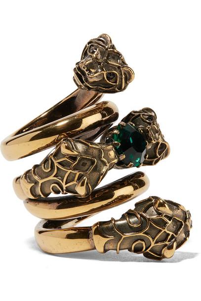 gucci ring gold jewels
