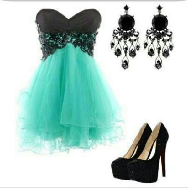 dress shoes black tirquoise blue turquoise wheretoget