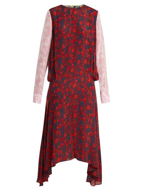 Preen Line dress floral print