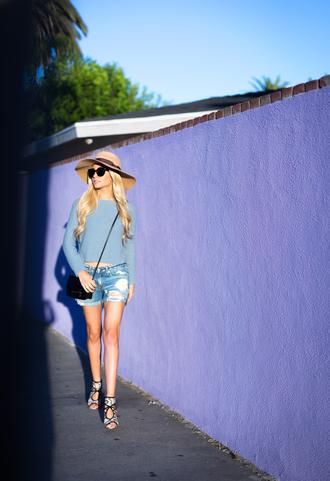 angel food blogger shoes sunglasses bag
