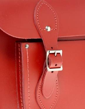 Cambridge Satchel Company | Cambridge Satchel Company Red Leather 11