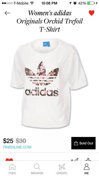 shirt adidas floral shirt