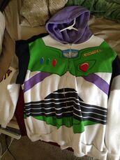 jacket,hoodie,buzz lightyear hoodie,buzz lightyear jacket,buzz lightyear,disney,funny