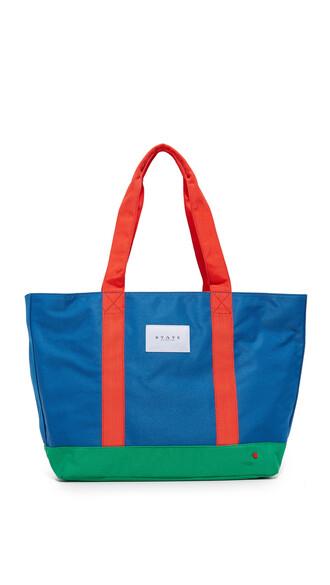 blue royal blue bag