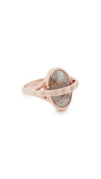 rose gold rose ring gold jewels