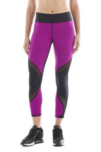 leggings purple michi designer tights magenta bikiniluxe