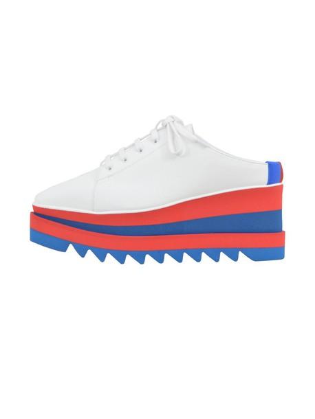 Stella McCartney white shoes