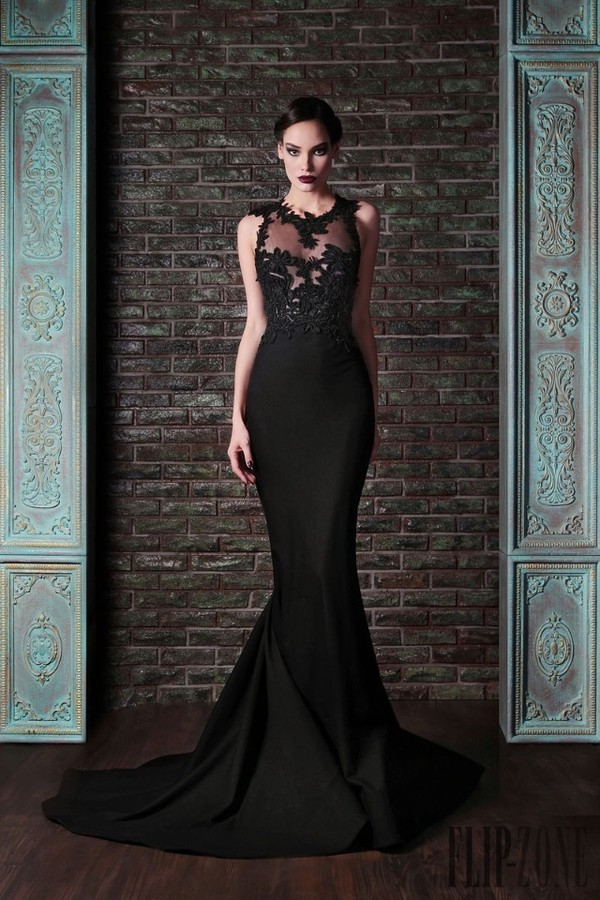dress black prom dress long prom dress floral dramatic dark lace dress mermaid prom dress sexy dress gown black dress long dress long evening dress formal dress