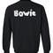Bowie sweatshirt back