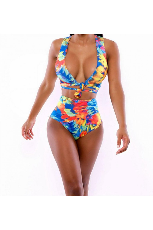Limited edition florita high wasited bikini set