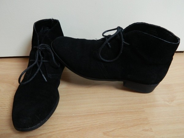 4b42251ac171 Office KEEPER LACE UP BLACK SUEDE Shoes - Womens Ankle Boots Shoes ...