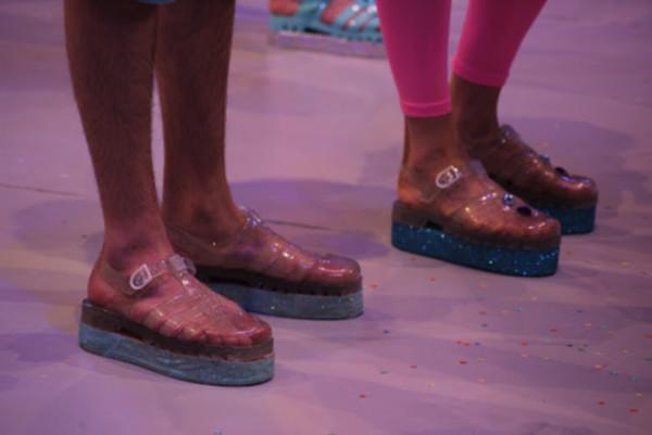 shoes jellies jellies flatform 90s style flatform jellies