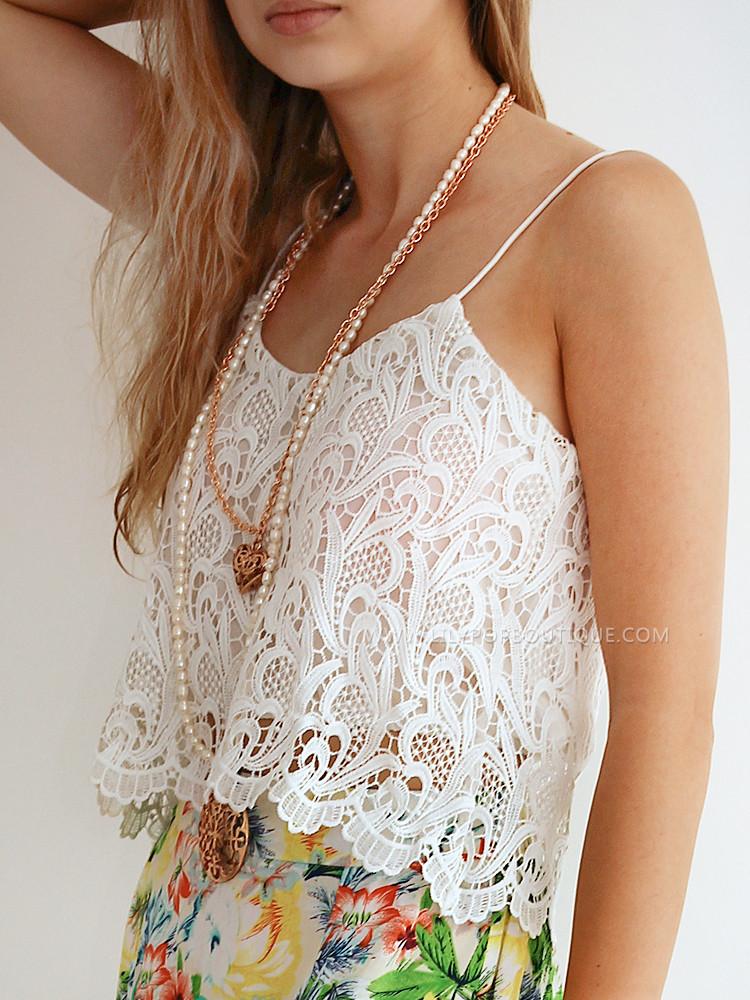 Close enough lace crop – lilypop boutique