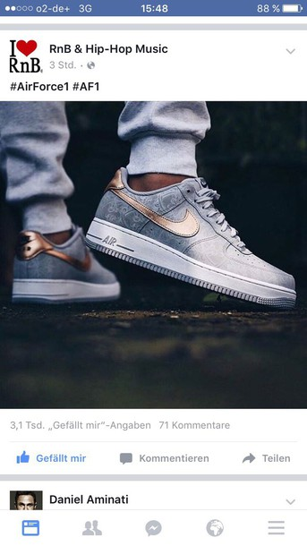 huge discount 6f74c bc972 shoes nike air max airforce 1 style women fashion cool hipster hip hop