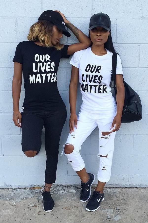 T Shirt Black Lives Matter Black T Shirt Quote On It White T