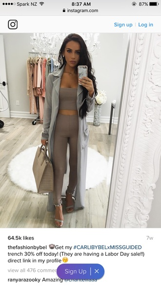 tights carli bybel nude black outfit