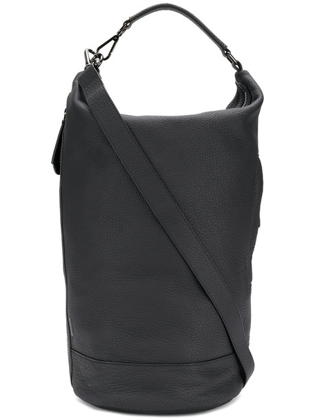 Zanellato long women bag bucket bag leather black