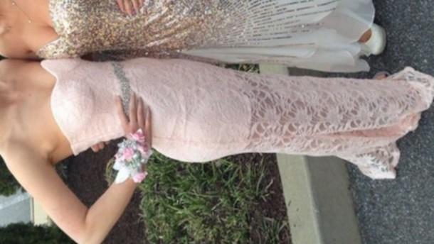 dress pink pink dress lace dress prom dress long dress formal dress style cute dress