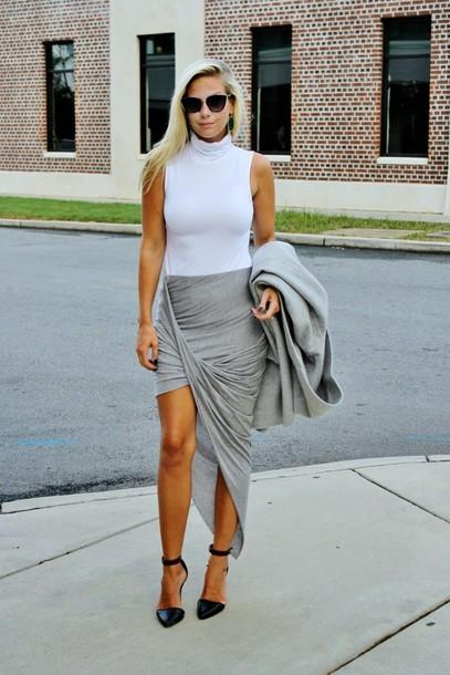 b soup blogger jewels skirt sunglasses shoes
