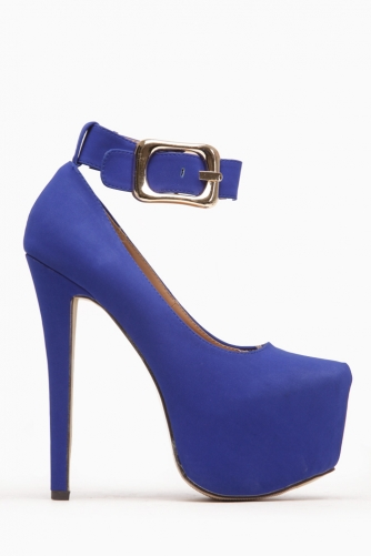 Glaze Blue Over Sized Buckle Up Platform Pumps @ Cicihot Heel Shoes online store sales:Stiletto Heel Shoes,High Heel Pumps,Womens High Heel Shoes,Prom Shoes,Summer Shoes,Spring Shoes,Spool Heel,Womens Dress Shoes,Prom Heels,Prom Pumps,High Heel Sandals