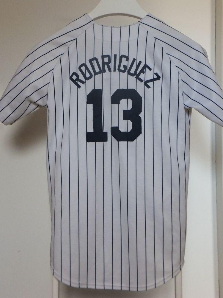 maillot trikot jersey mlb alex rodriguez new york yankees m. Black Bedroom Furniture Sets. Home Design Ideas