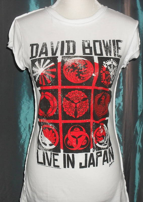 David bowie live in japan t