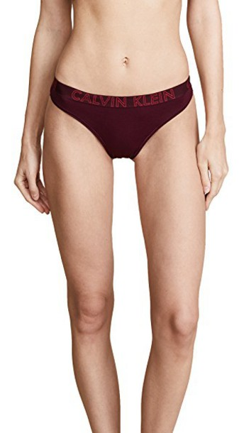 CALVIN KLEIN UNDERWEAR thong cotton underwear