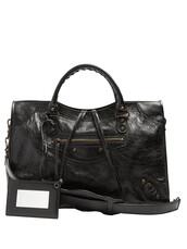 classic,bag,shoulder bag,leather,black