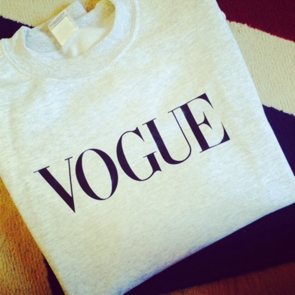 sweater vogue shirt