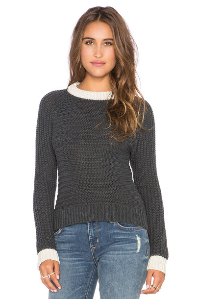 EVER Folsom Sweater in gray