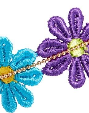 ASOS | ASOS Crochet Flower Friendship Bracelet at ASOS