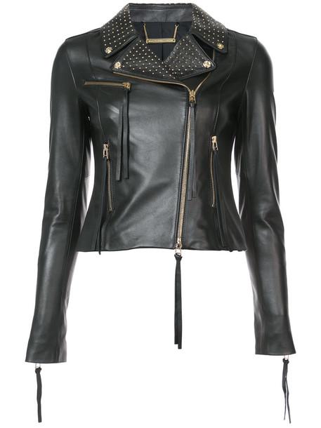 Thomas Wylde jacket studded jacket studded women leather black