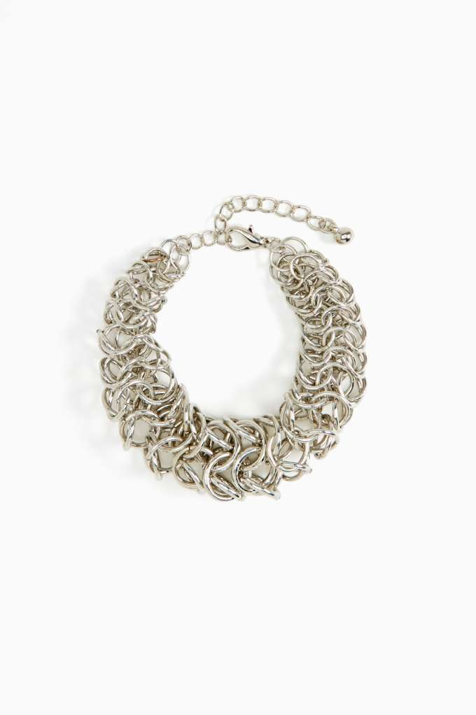 Ascending Order Chainmail Bracelet in  Accessories at Nasty Gal